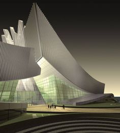 """"""" Crashing Waves-Tongyeong Concert Hall """" is designed by Architecture Architecture Design, Futuristic Architecture, Contemporary Architecture, Amazing Architecture, Landscape Architecture, Architecture Colleges, Computer Architecture, Cultural Architecture, Futuristic Design"""