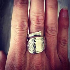 There are pieces of jewelry that come and go based on current trends, then there are those that last a lifetime and longer. The spoon ring is an excellent example of a timeless classic. Some think that the rings origins date back to the 1600s. Here's a quick and easy way to make your own!