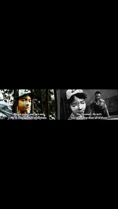 Why'd you have to go and quote Lee like that Clem....it hit me...RIGHT.IN.THE.FEELS