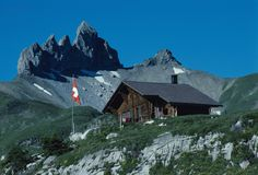 Lobhornhütte, Switserland
