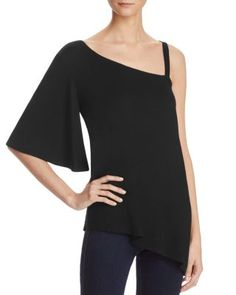 Ella Moss Asymmetric One-Shoulder Top | Bloomingdale's