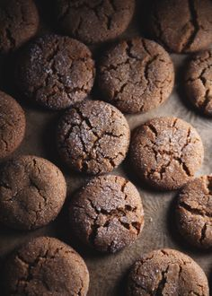 ### BACON FAT GINGERSNAPS  Adapted from Leite's Culinaria  FROM The Tart Tart
