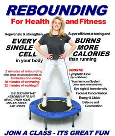 Things to Consider in Choosing the Right Rebounder - Women Fitness Magazine Yoga Fitness, Fitness Tips, Fitness Motivation, Health Fitness, Fitness Fun, Trampolines, Excercise, Rebounding Exercise, Rebounder Workout