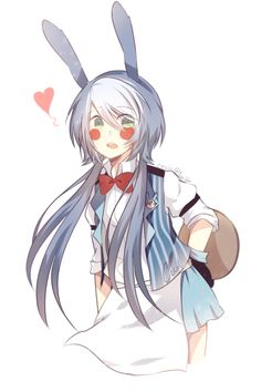 ceciil: I miss draw Toy Bonnie so here a female!BonBon ds pole-bear :''^)
