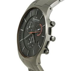 Relógio Skagen Masculino Ref: Skw6076/1pn Slim Titânio - Relógios Web Shop