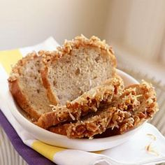 Nuts, coconut, lime, and rum give this quick bread a tropical and indulgent feel. It's an unforgettable recipe with the tangy lime glaze balancing the sweet bread. Give it a try. Don't let the long ingredient list fool you; many are repeated ingredients that are mixed in the bread and then used to top the bread with a glaze that puts drizzled powdered sugar and milk to shame.