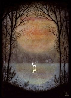"""A Placid Pause"" by Andy Kehoe"