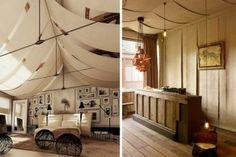 Techos decorados con telas Decoracin del hogar Pinterest Spa