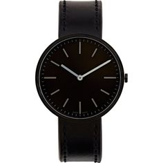 Uniform Wares M37 Watch (9,575 MXN) ❤ liked on Polyvore featuring men's fashion, men's jewelry, men's watches, watches, men, accessories, bracelets, jewelry, black and filler