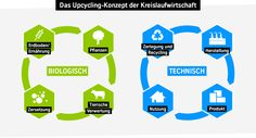 Cradle-to-Cradle circular economy upcycling process