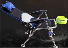 New Multifunction  Folding fishing stool Stainless steel  stand fishing chair fishing gear  free  shipping