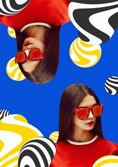 Fashion Collages on Behance
