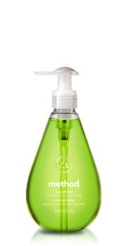 Love all the method products - especially the hand soap, cleaning sprays, and the floor cleaner (they all smell so good)