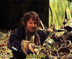 he made Bilbo real to me, and he did it all with just a look a whisper and the best facial expressions a gold ring could buy