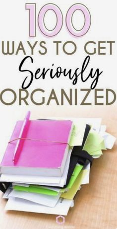 Organisation Hacks, Clutter Organization, Planner Organization, Office Organization, Organisation Ideas Planners, Back To School Diy Organization, Project Life Organization, Household Organization, Declutter Your Home
