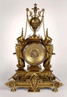Beautifully detailed Clock