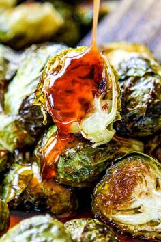 Oven Roasted Brussels Sprouts are a quick and easy hands-off side dish perfect for every meal! Roasted Brussels Sprouts are healthy, delicious, extremely versatile and shockingly addictive. They can be on your table in less than 30 minutes tossed in just a few pantry friendly ingredients. This Brussels Sprouts recipe requires minimal effort but delivers explosive flavor with ZERO dishes to clean up!  And the best part is these oven Roasted Brussels Sprouts are100% customizable with your…