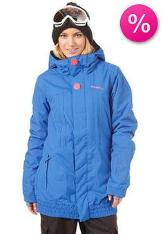 ONEILL - Womens Pwes Nobility Jacket ocean blue (21% off)