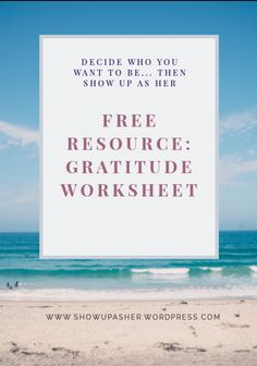 Gratitude is a powerful tool to manifest your dream life and start living as your Higher Self. Get your FREE Gratitude Worksheet and Show Up As Her