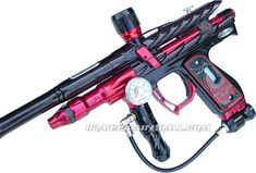 Past & Present paintball guns.