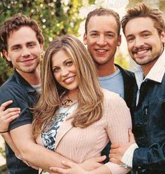 Cast of Boy Meets World, Shawn (Ryder Strong) ,Topanga (Danielle Fishel) ,Cory (Ben Savage) and Eric (Will Friedle), now.  Ryder