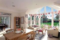 Image result for open plan kitchen dining conservatory