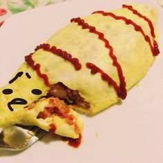 いいね!11件、コメント4件 ― Valentina Gutiérrezさん(@poriporii)のInstagramアカウント: 「Omurice casero con pololi 😋❤️ #omurice #cookingwithdog #gudetama #food」
