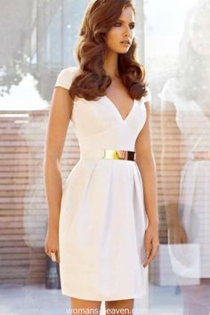 dress, dress image, fashion, image, moda, photo, picture, white dress, style http://www.womans-heaven.com/white-dress-image-49/