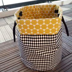 Panier , sac à linge ou jouet scandinave