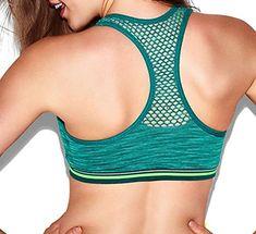 78b77788ab60eb Victorias Secret Womens PINK Seemless Racerback Bralette Bra Small Green  Marl -- Amazon most trusted e-retailer  VictoriasSecretBralette
