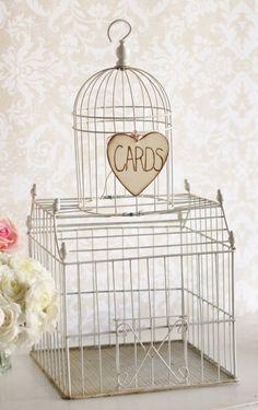 Card Box Sign Rustic Wedding Decor