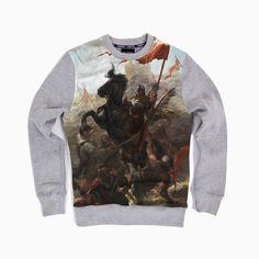Bluza patriotyczna Bluza Husaria. Odsiecz Wiedeńska - nadruk sublimacyjny - odzież patriotyczna Red is Bad