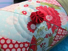 #sewing #fabric #pillow #quilting