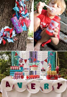 Creative Firecracker Birthday Party!