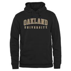 Oakland Golden Grizzlies Everyday Pullover Hoodie - Black