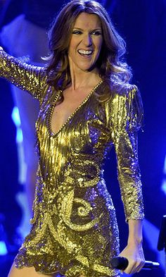 "Celine Dion ... ( 2012 )  Recorded the song "" My Heart Will Go On "" the theme song to her 1997 blockbuster, ""Titanic."""