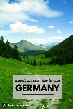 Craving a little Germany in your life? Plan the perfect trip to Germany—at the perfect time!—with this complete guide on when to go to Germany, the best time to visit Germany and the best month to visit Germany.