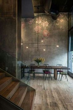 Table and light fixture