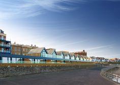 V zátoce Westbrook ve městě Margate v anglickém hrabství Kent vyrostlo jedenáct moderních plážových domků, které poskytují dokonalý komfort. Původní pitoreskní domky s barevnými fasádami a s minimem pohodlí už u Britů netáhnou. Chtějí luxus a moderní styl.
