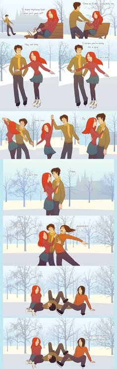 """These Hilarious """"Harry Potter"""" Comics Ask James And Lily Potter Questions"""