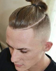 top knot man - Google Search