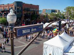 Gotta love the Mill Avenue District in Tempe, AZ!