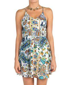Floral Paisley Dress