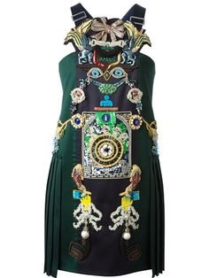 Shop Mary Katrantzou 'Tiki Man' dress in Luisa World from the world's best independent boutiques at farfetch.com. Over 1000 designers from 300 boutiques in one website.