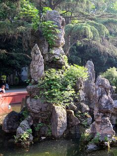 Tranquil Rocks -   Central China Normal University, Wuhan, China
