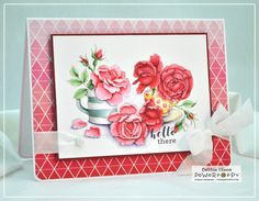 Everything's Rosy Digital Stamp Set   Power Poppy by Marcella Hawley