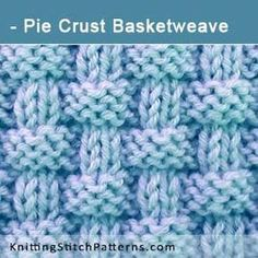 Pie Crust Basketweave | Knit & Purl Stitch Combinations. Free Knitting Pattern includes written instructions and video tutorial.