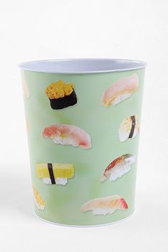 Sushi Trashcan.. perfect for our family haha