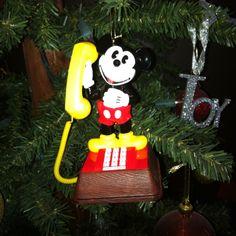 2011 Disney -- Mickey Mouse Christmas Ornament