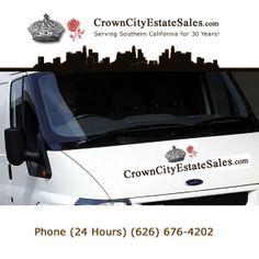 Crown City Estate Sales #california #estatesales #losangeles